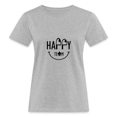 Happy Team - T-shirt ecologica da donna