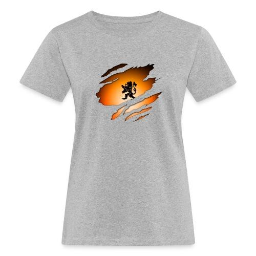 Dutch Inside: Leeuw - Vrouwen Bio-T-shirt