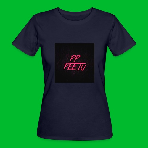 Ppppeetu logo - Naisten luonnonmukainen t-paita