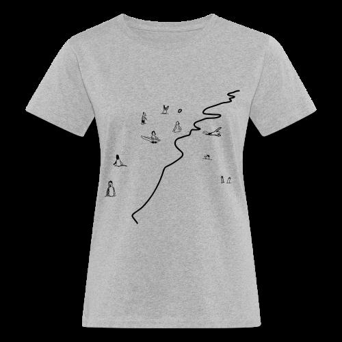 Beach - Frauen Bio-T-Shirt