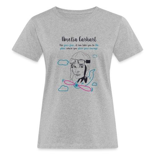 Amelia Earhart - Women's Organic T-Shirt