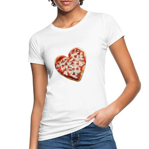 Pizza a cuore - T-shirt ecologica da donna