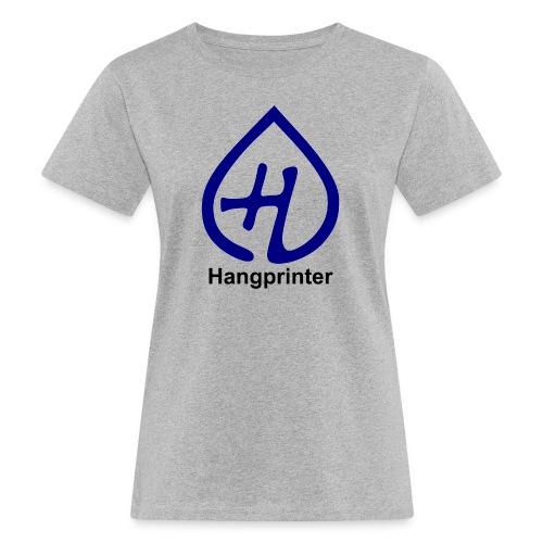 Hangprinter logo and text - Ekologisk T-shirt dam