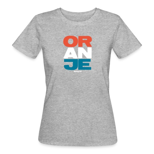 Batzer Oranje Shirt Hoodie Tanktop - Vrouwen Bio-T-shirt