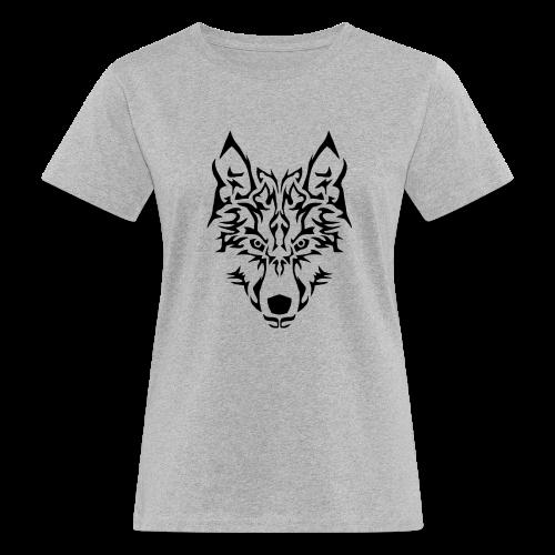 Tribal Wolf - T-shirt bio Femme