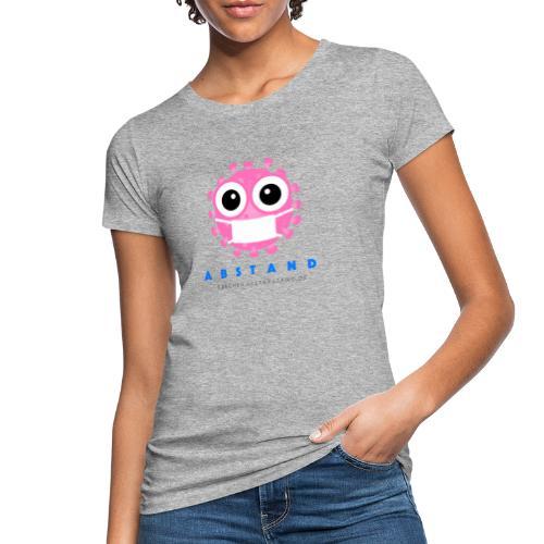 Frechen hält ABSTAND - Rosa - Frauen Bio-T-Shirt