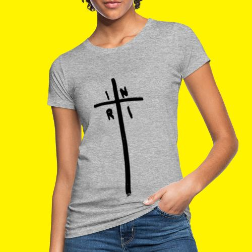 Cross - INRI (Jesus of Nazareth King of Jews) - Women's Organic T-Shirt