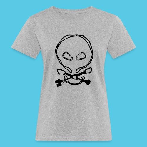 Totenkopf - Frauen Bio-T-Shirt