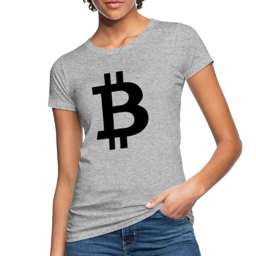 Bitcoin black - Ekologisk T-shirt dam