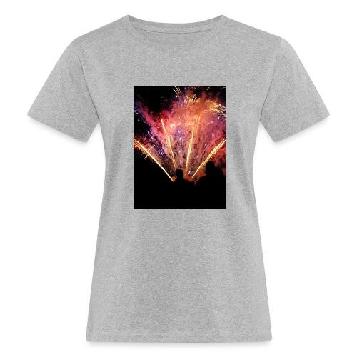 Firework - Naisten luonnonmukainen t-paita