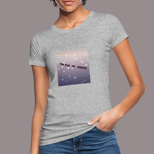 The duo of death logo - Vrouwen Bio-T-shirt