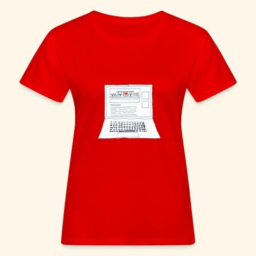 Laptop 20CENT Retail - T-shirt bio Femme