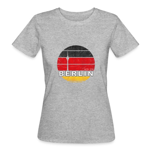 BERLIN, Germany, Deutschland - Women's Organic T-Shirt