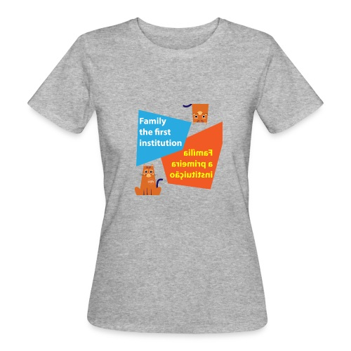 Duna Família - Økologisk T-skjorte for kvinner