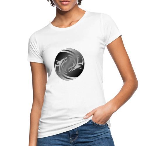 Yin Yang Dragon - Women's Organic T-Shirt