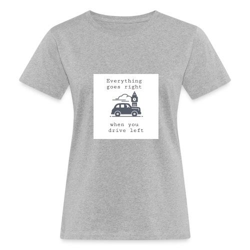 drive left - T-shirt bio Femme