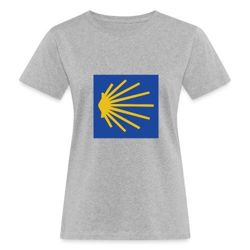 Muschel Wegweiser - Frauen Bio-T-Shirt