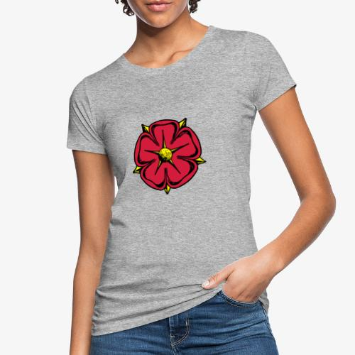 Lippische Rose - Frauen Bio-T-Shirt