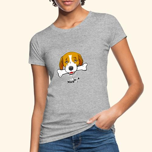 Nice Dogs Semolino - T-shirt ecologica da donna