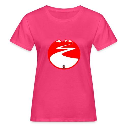 Montagne rouge - T-shirt bio Femme