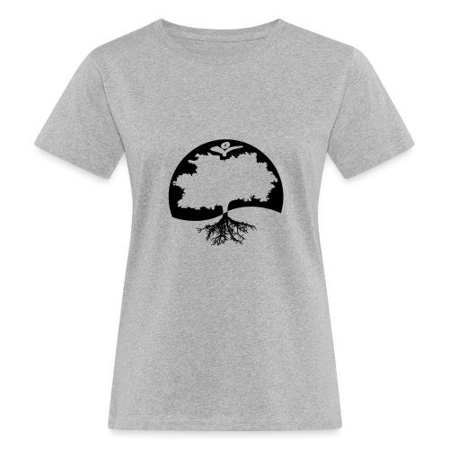 Naturals Logo Grafik - Frauen Bio-T-Shirt