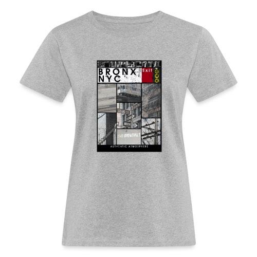 Bronx Nyc - Naisten luonnonmukainen t-paita