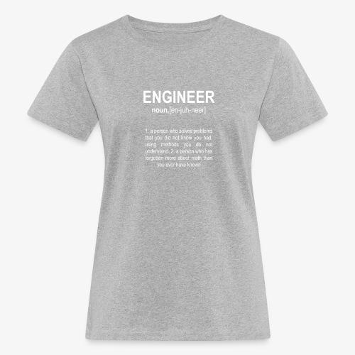 Engineer Def. 2 - T-shirt bio Femme
