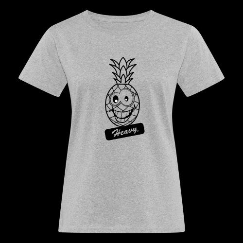 Design Ananas Heavy - T-shirt bio Femme