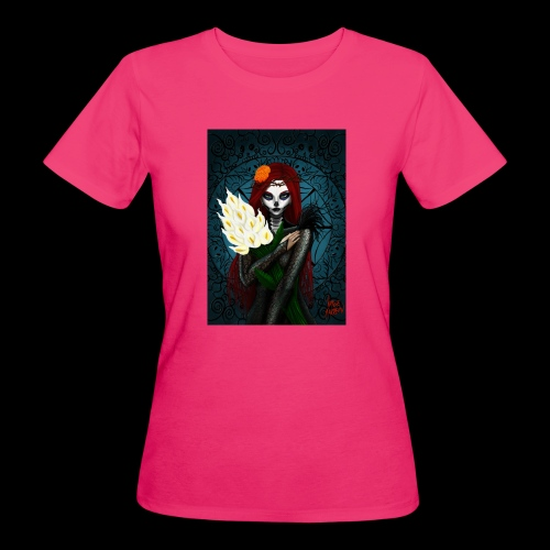 Death and lillies - Women's Organic T-Shirt