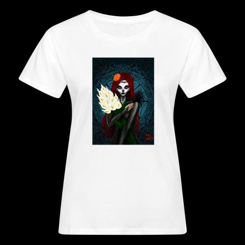 Death and lillies - Women's Organic T-Shirt