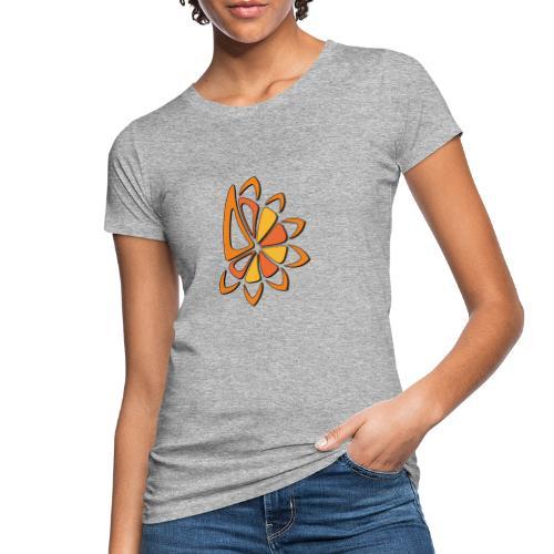 spicchi di sole caldo multicolore - T-shirt ecologica da donna