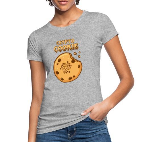 Crypto Cookie - IOTA - BTC, Bitcoin - Keks - Frauen Bio-T-Shirt
