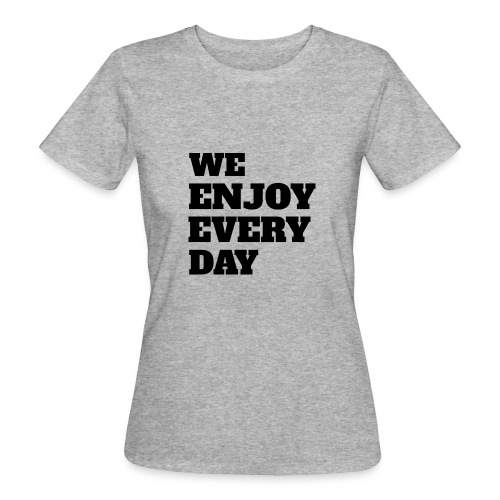 Enjoy - T-shirt bio Femme