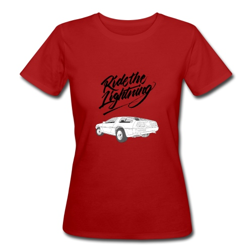 Delorean – Ride The Lightning - Frauen Bio-T-Shirt