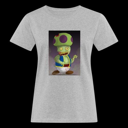 SuperMario: Zombie Toad - Vrouwen Bio-T-shirt