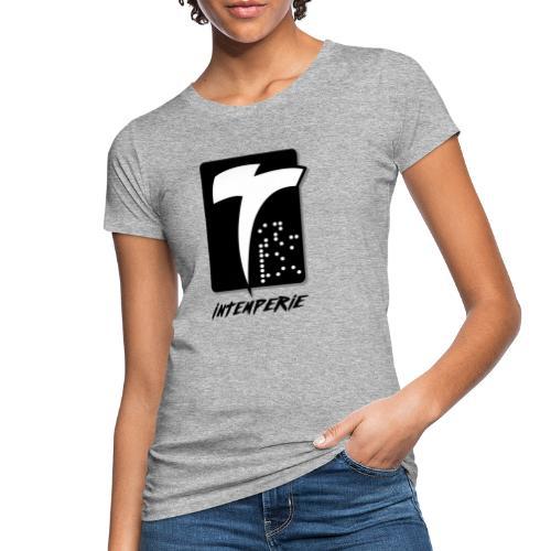 intemperie logo final fondo blanco - Camiseta ecológica mujer