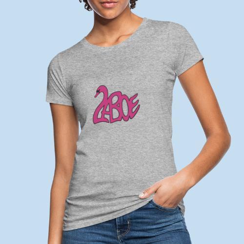 Laboe Schwan pink - Frauen Bio-T-Shirt