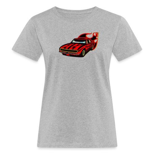 auto fahrzeug rennwagen - Frauen Bio-T-Shirt