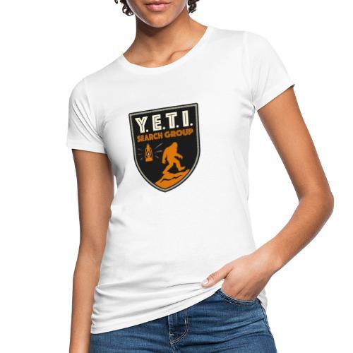 Blason Yeti Search Group - T-shirt bio Femme