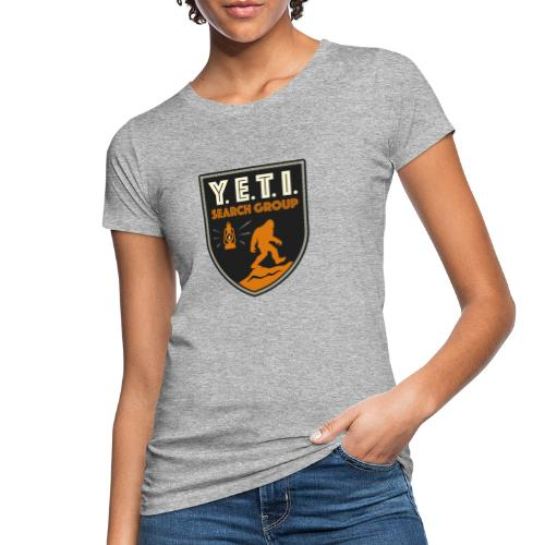 Blason Yeti Search Group - T-shirt bio Femme