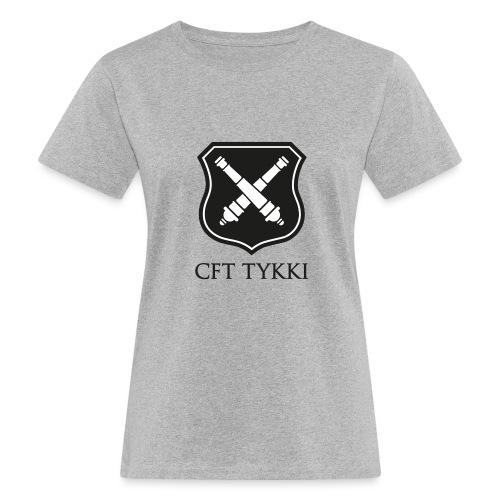 Tykki logo musta - Naisten luonnonmukainen t-paita