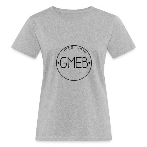 doorschijnend logo ZWART - Vrouwen Bio-T-shirt