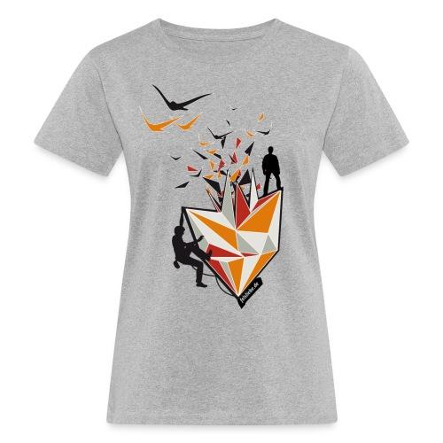 halle png - Frauen Bio-T-Shirt