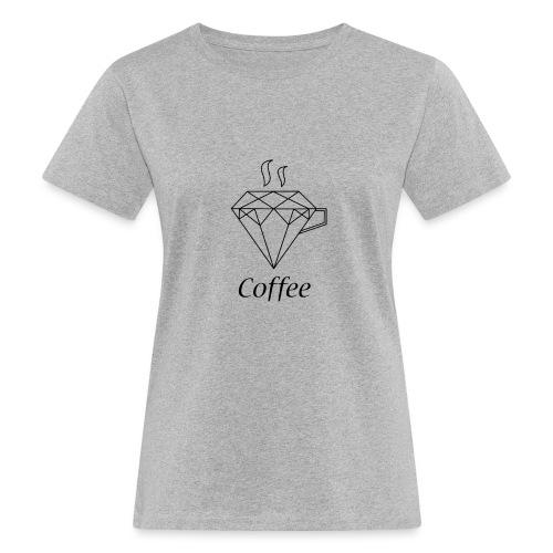 Coffee Diamant - Frauen Bio-T-Shirt