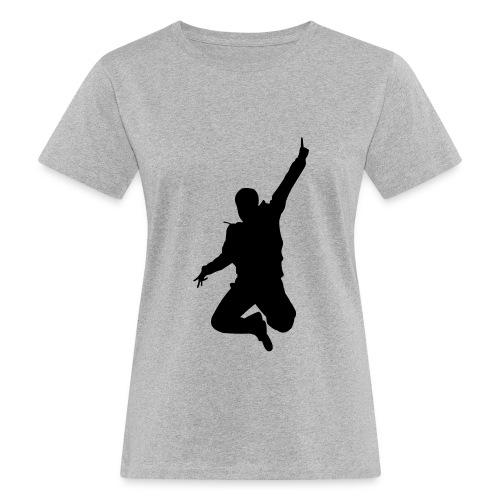 Jumping Man - Frauen Bio-T-Shirt