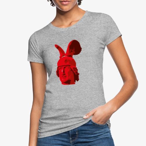 Kopf des Hermannsdenkmals - Frauen Bio-T-Shirt