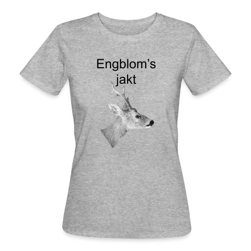 Officiell logo by Engbloms jakt - Ekologisk T-shirt dam
