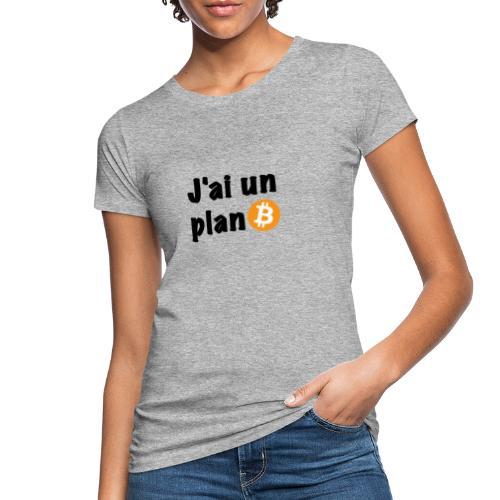 plan Btc - T-shirt bio Femme