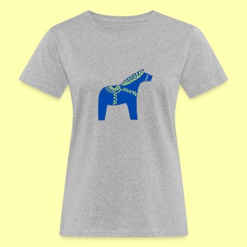 Dala by Pinni Art® blue - Frauen Bio-T-Shirt