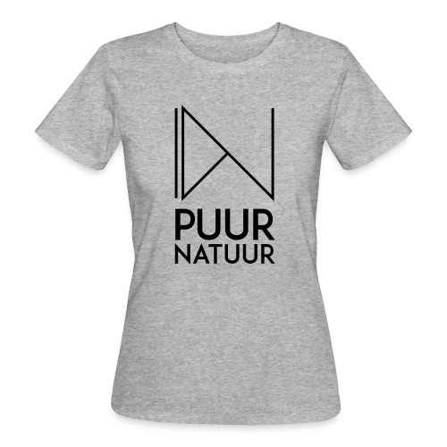 PUUR NATUUR FASHION BRAND - Vrouwen Bio-T-shirt